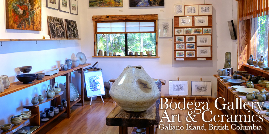 Bodega Gallery on Galiano Island